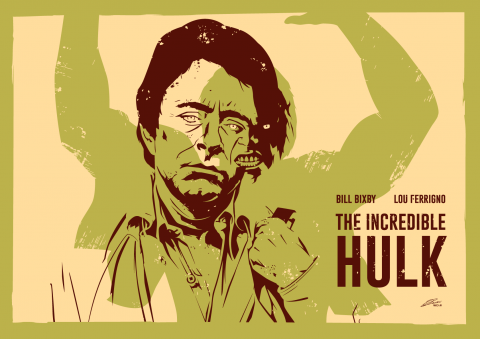THE INCREDIBLE HULK Poster Art