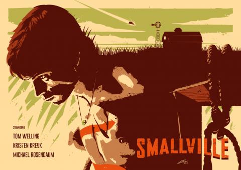 SMALLVILLE Poster Art