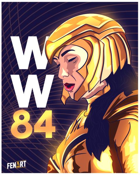 Wonder Woman 84 Fan Art