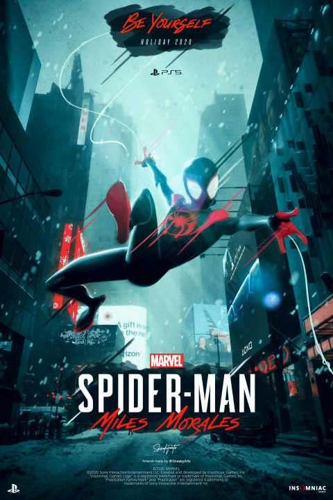 SpiderMan™ Miles Morales | By SneakyArts