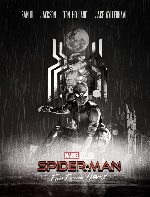Spider-Man Far From Home– Noir edition ( Night Monkey )
