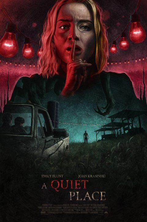 'A Quiet Place' Alternative Movie Poster