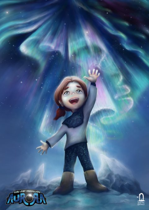 Aurora – The Lost Medallion – Poster 3