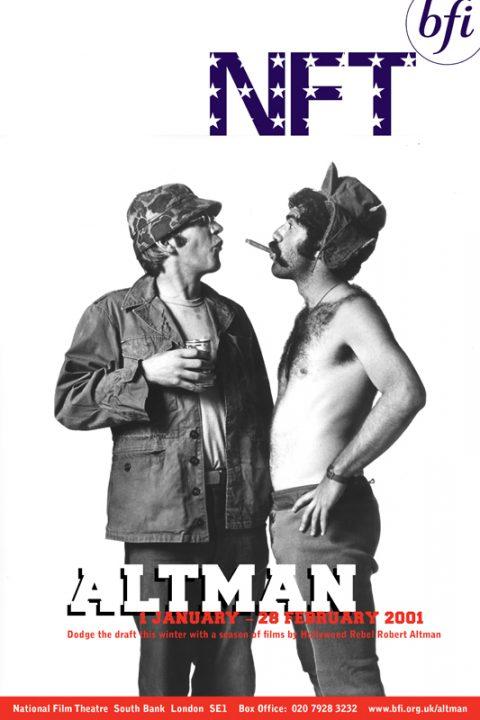 BFI Robert Altman Season Poster