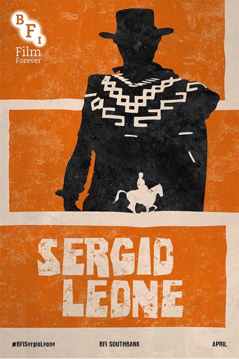 BFI Sergio Leone Film Season Poster