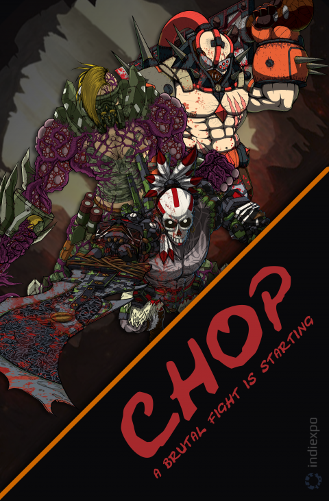 CHOP – Gory Fighting Game – Poster 5