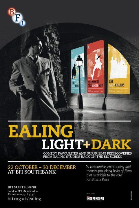 BFI Ealing Studios Film Season Posters