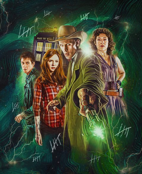 Doctor Who Series 6 – Steelbook Front Cover