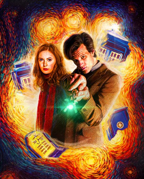 Doctor Who Series 5 – Steelbook Front Cover