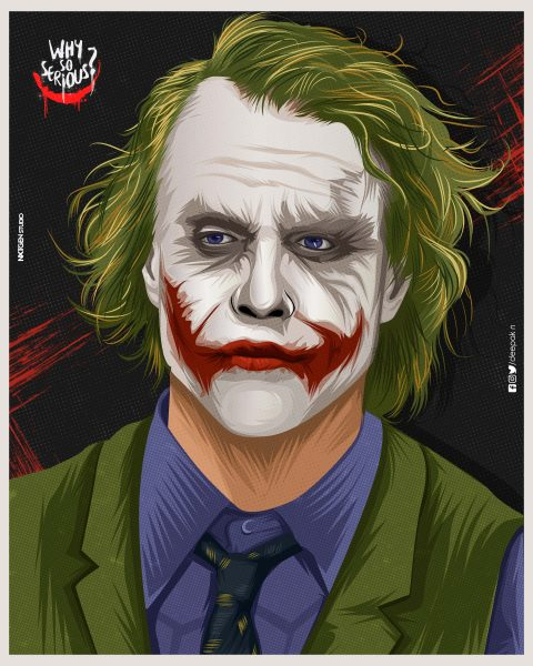 Heath Ledger-Dark Knight