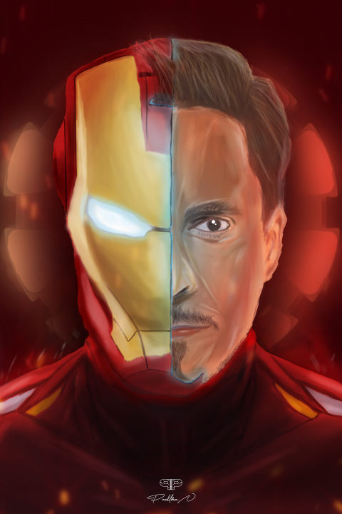 IRON MAN | TONY STARK (Digital drawing)