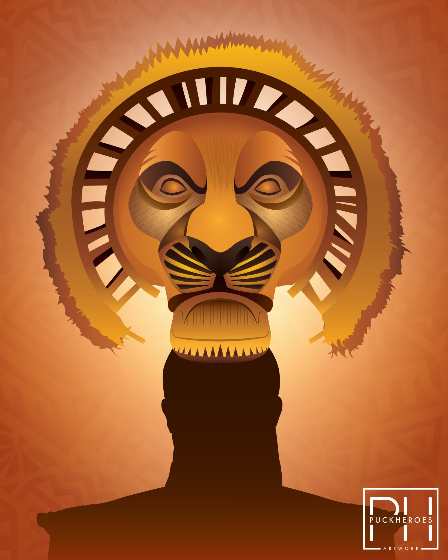The Lion King Broadway Musical Mufasa Posterspy