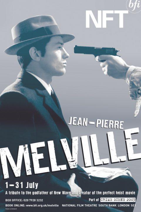 BFI Jean-Pierre Melville Film Season Poster