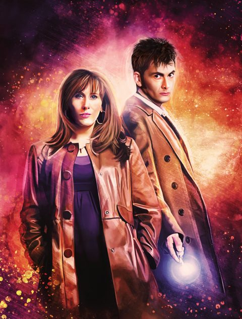 Doctor Who Series 4 – Steelbook Front Cover