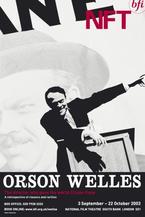 BFI Orson Welles Film Season Poster