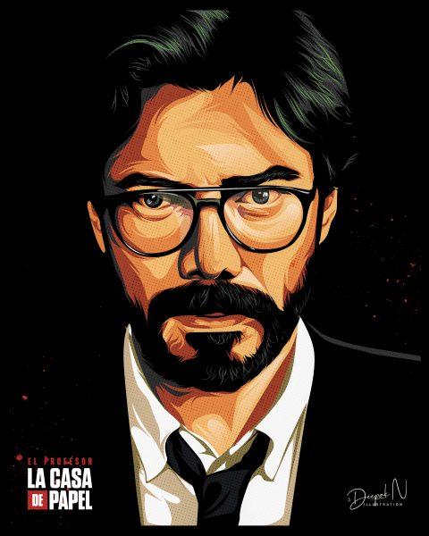 Sergio/Professor – La Casa De Papel