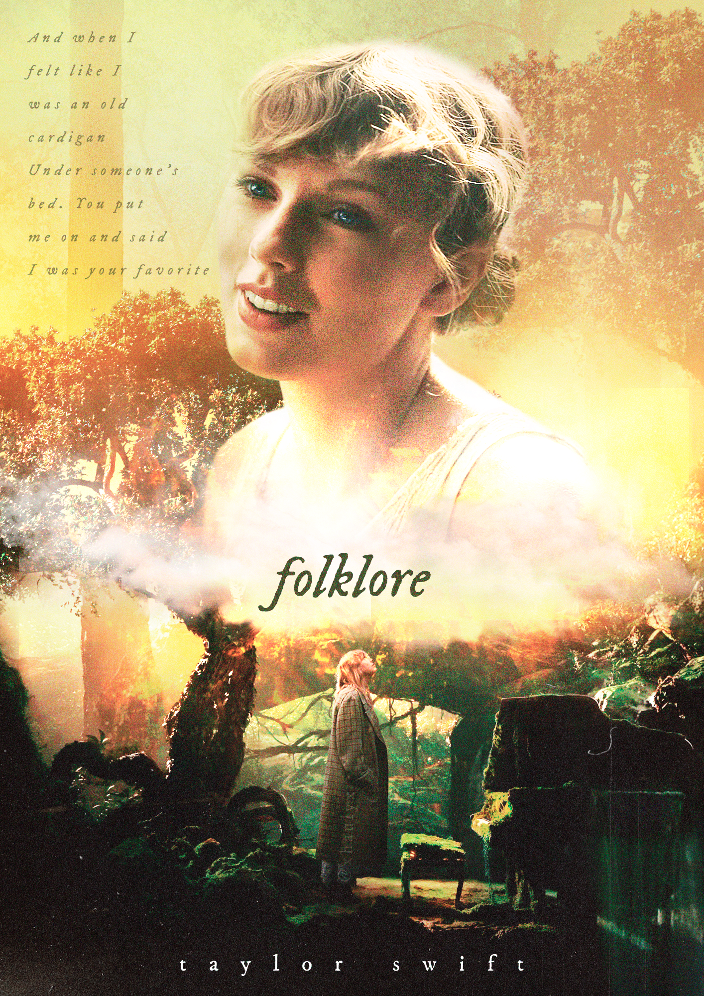 Taylor Swift Folklore Poster Posterspy