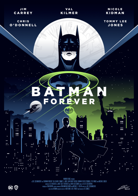 BATMAN FOREVER Poster Art