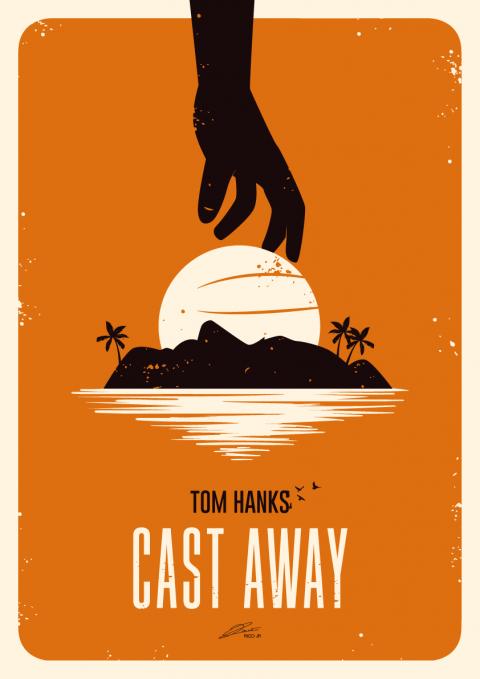 CAST AWAY Poster Art