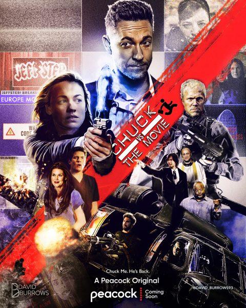 Chuck VS The Movie Poster