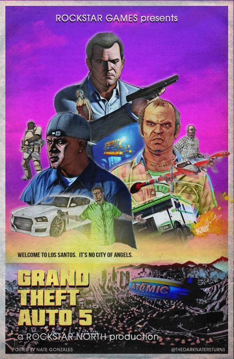 GRAND THEFT AUTO 5 – Welcome to Los Santos