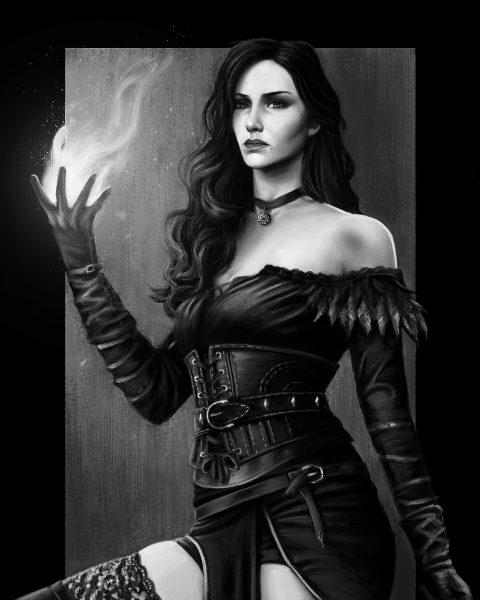 Yennefer of Vengerberg, The Witcher 3