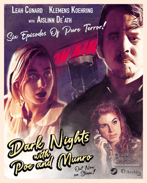 Dark Nights With Poe and Munro Poster