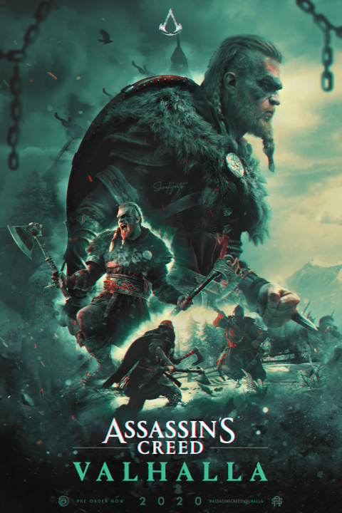 AssaasinsCreed: Valhalla | Poster By SneakyArts