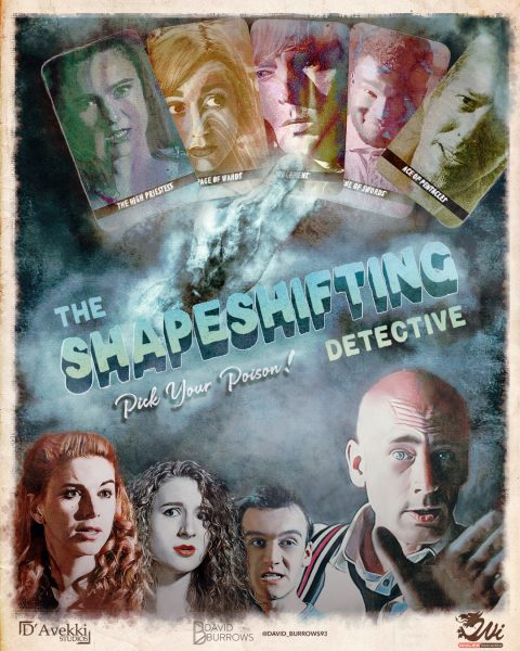 The Shapeshifting Detective Poster