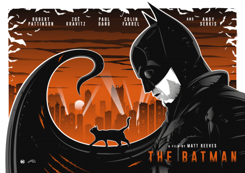 THE BATMAN Poster Art