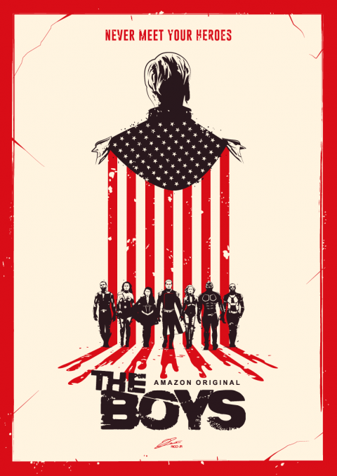 THE BOYS Poster Art