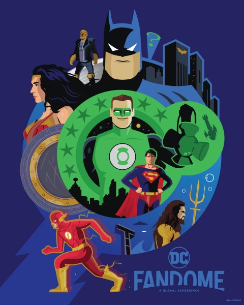 Infinite Earths (DC FanDome Poster)