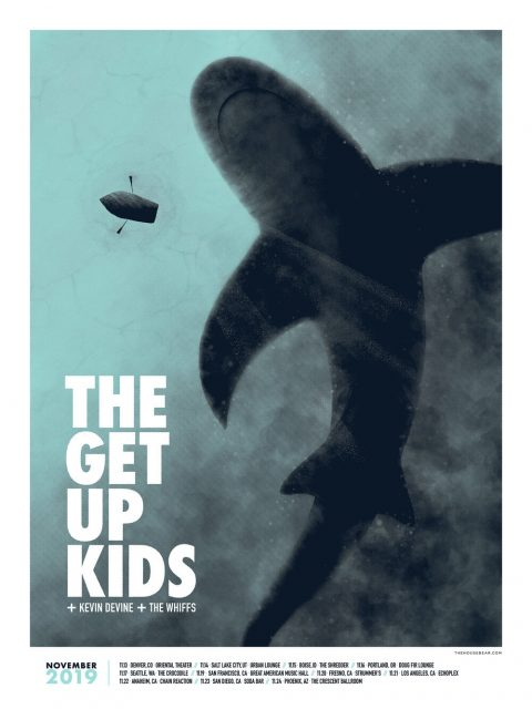 The Get Up Kids + Kevin Devine — November 2019 Tour