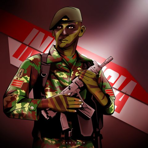 indonesian soldier