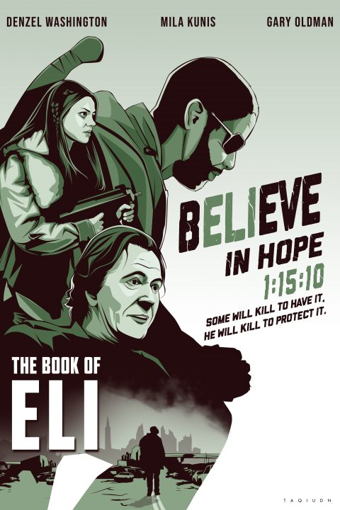 the book of eli alternate poster