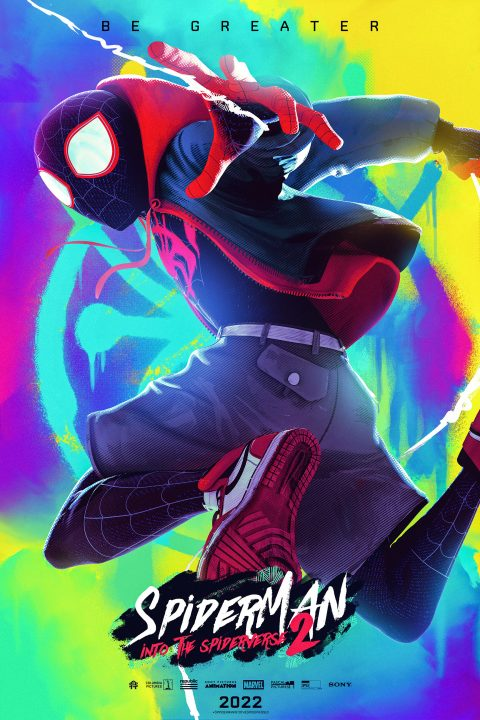SpiderMan into the Spider-Verse 2