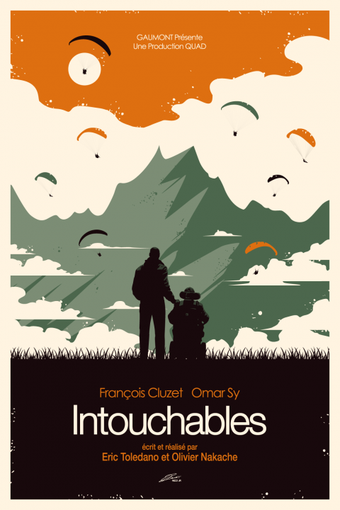 INTOUCHABLES Poster Art