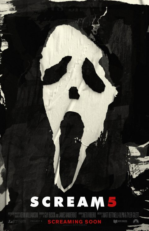 Scream / Scream 5 (2022) – Teaser Poster