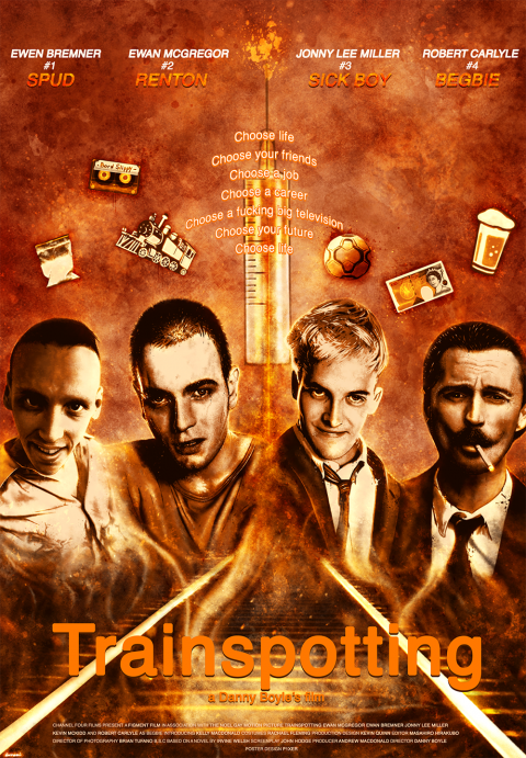 Trainspotting Alternative poster