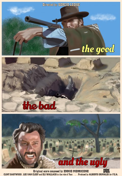 The good, the bad and the ugly – Sergio Leone 1966