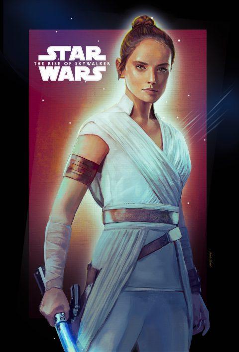 Rey's Poster