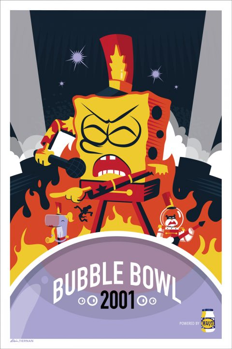 SpongeBob: Bubble Bowl (Fake Gig Posters Show)