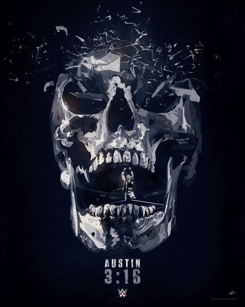 WWE Steve Austin Poster