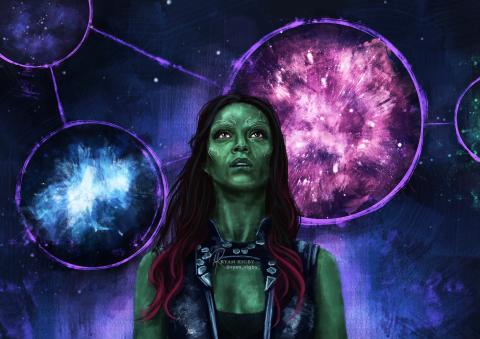 Gamora of the Galaxy