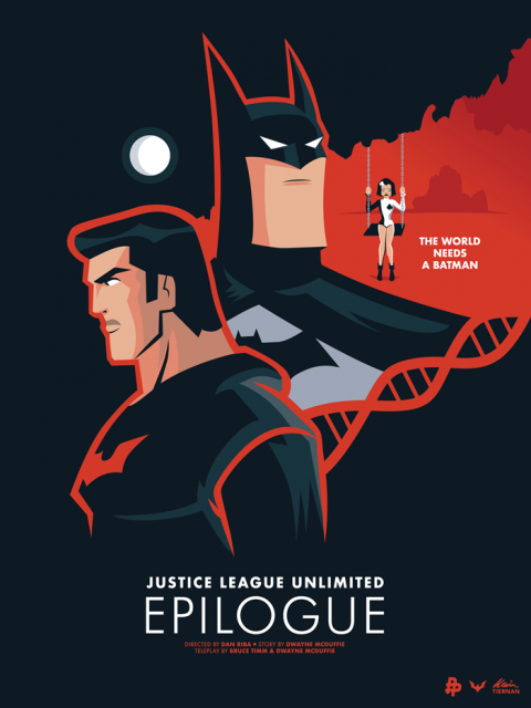 Justice League Unlimited: Epilogue (Poster Posse Batman Tribute)