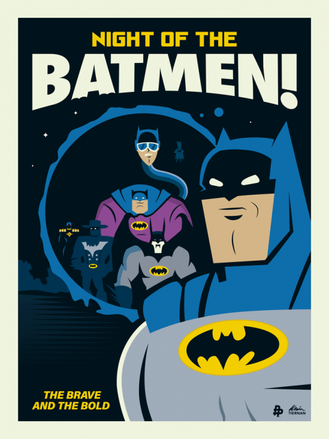 Batman: The Brave and the Bold (Poster Posse Batman Tribute)