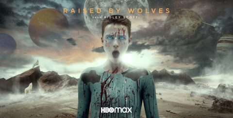 Raised by wolves alternative movie poster