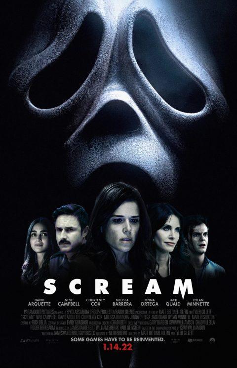 Scream / Scream 5 (2022) – Poster