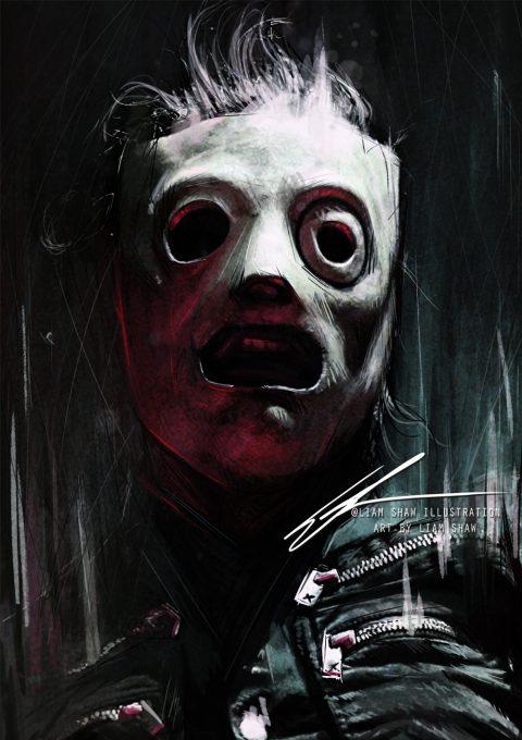 Slipknot – Corey Taylor portrait