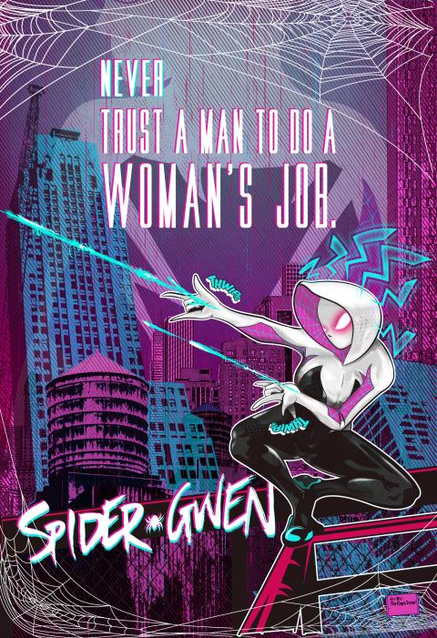 Spider Gwen aka Ghost Spider